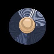 Jimi Hendrix video slot - LP symbool