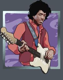 Jimi Hendrix - Purple Haze symbool