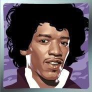 Jimi Hendrix video slot gokkast - Wild symbool