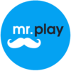 Mr Play Casino logo rond