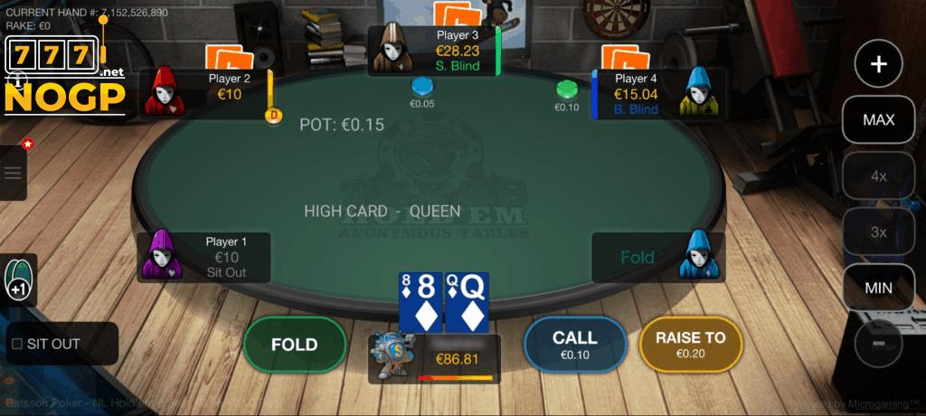 Betsson online poker