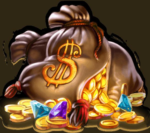Piggy Riches video slot gokkast - Geldzak symbool