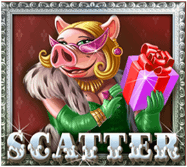 Piggy Riches slot - Scatter symbool