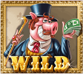 Piggy Riches slot - Wild symbool