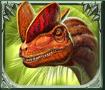 Raging Rex video slot gokkast - Dinosaurus 2 symbool
