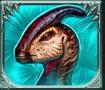 Raging Rex video slot gokkast - Dinosaurus 4 symbool