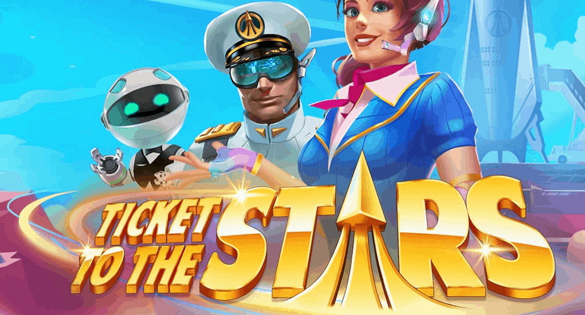 Ticket to the Stars video slot van Quickspin