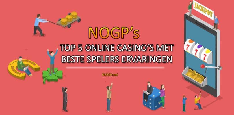 Online Casino's met de beste spelerservaringen op NOGP.net.