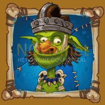 Troll Bridge video slot gokkast - Blauwe troll symbool