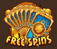 Trolls Bridge video slot - Free spins symbool