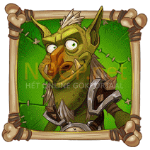 Troll Bridge video slot gokkast - Groen troll symbool