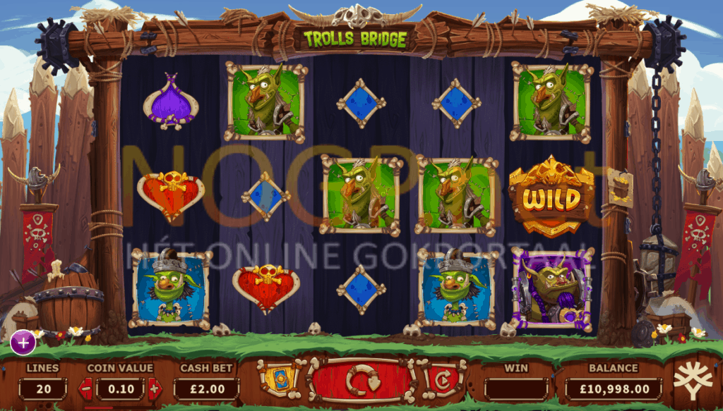 Trolls Bridge slot screenshot