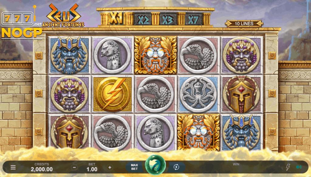 Ancient Fortune: Zeus gokkast screenshot