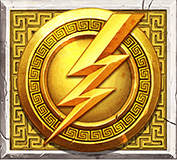 Ancient Fortunes: Zeus video slot - Scatter symbool