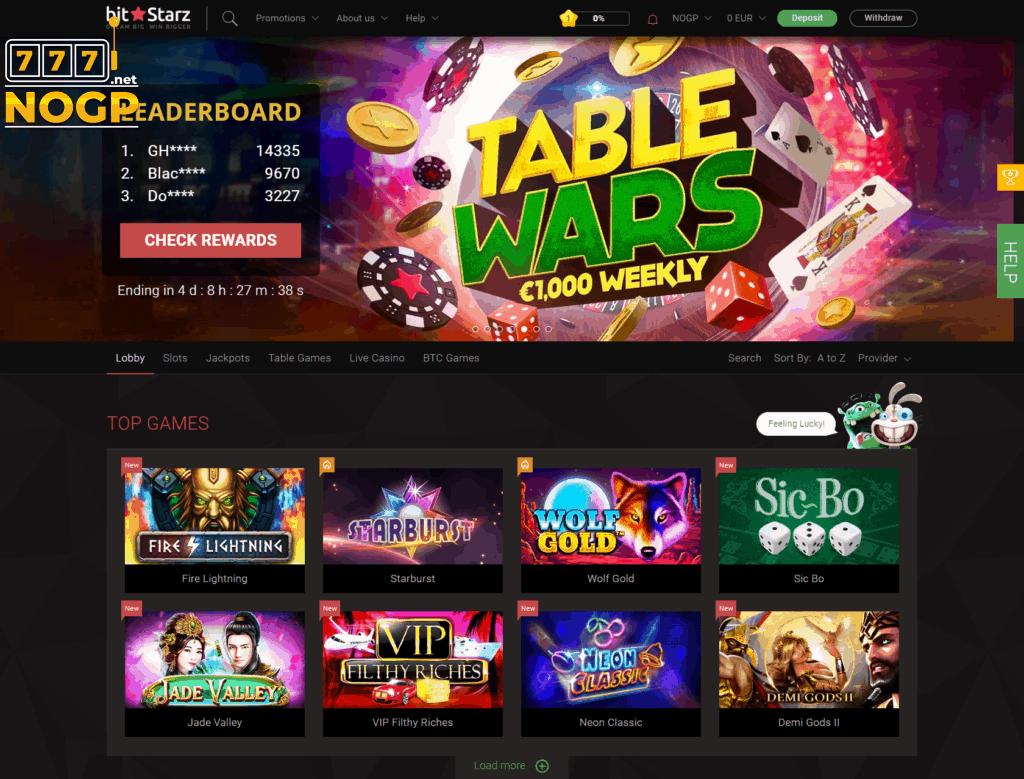 Bitstarz Casino screenshot