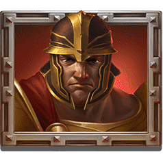 Champions of Rome video slot - Red Gladiator symbol