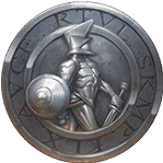 Champions of Rome video slot - Silver coin symbol