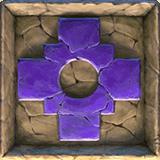 Ecuador Gold video slot - Purple carved stone symbol