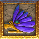 Ecuador Gold video slot - Bird symbol