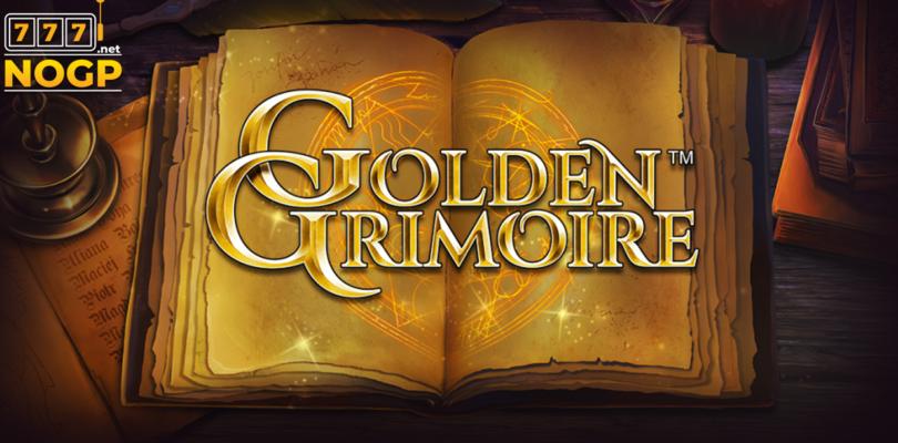 Golden Grimoire slot logo