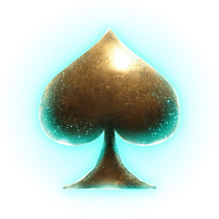 Golden Grimoire video slot - Spades symbol