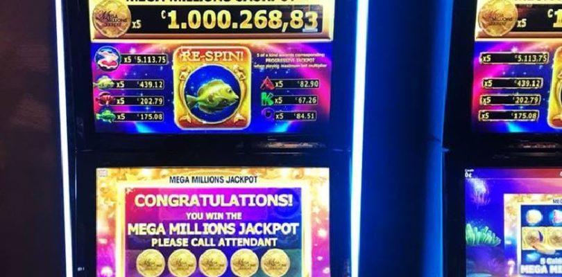 Man miljonair na het spelen op de Mega Millions gokkast in Holland Casino Valkenburg.