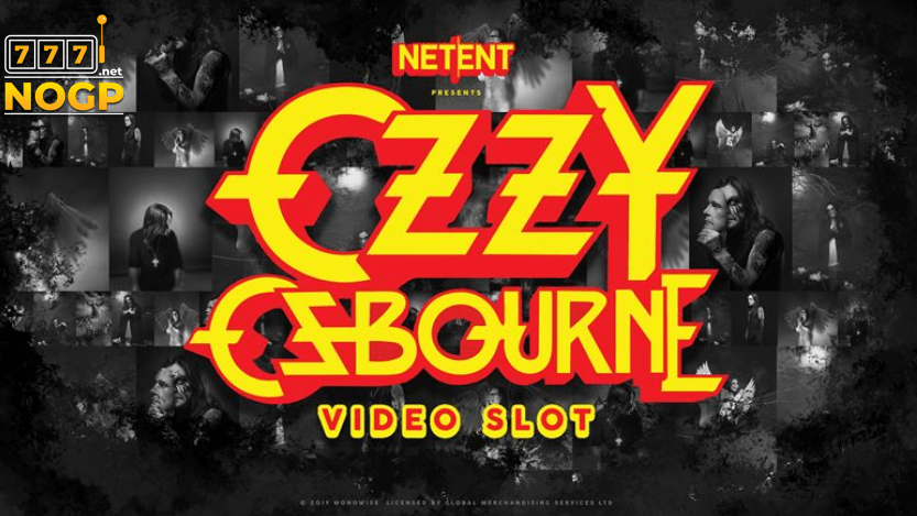 Ozzy Osbourne video slot van NetEnt
