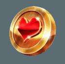 Pirates Plenty slot - Heart coin symbol
