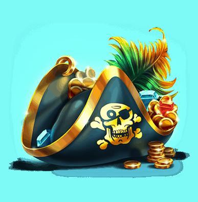 Pirates Plenty slot - Pirate hat symbol