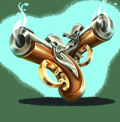 Pirates Plenty slot - Weapon symbol