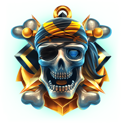 Pirates Plenty Battle for Gold Skull symbol