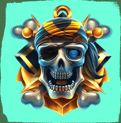 Pirates Plenty slot - Skull symbol