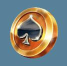 Pirates Plenty slot - Spades coin symbol
