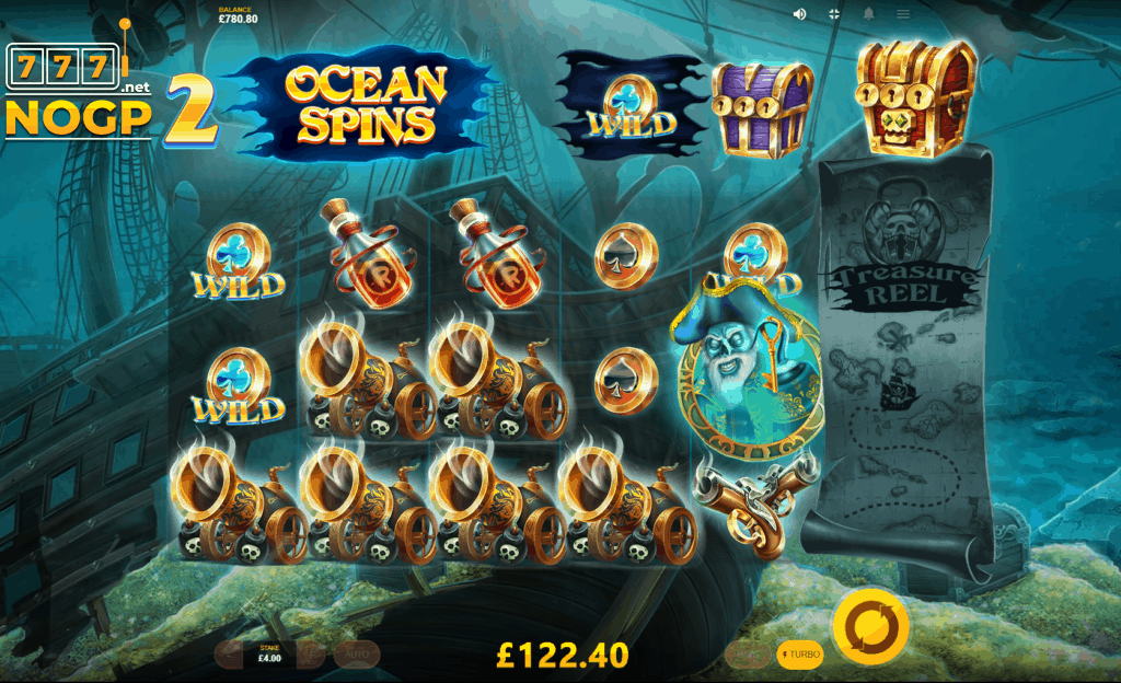 Pirates Plenty video slot Ocean Spins screenshot