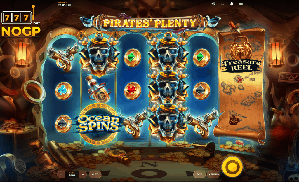Pirates Plenty video slot Red Tiger Gaming