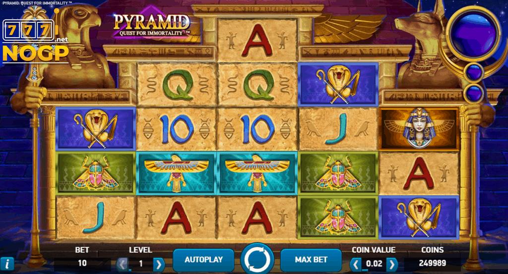 Pyramid gokkast van NetEnt