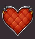 Queens Day Tilt video slot - Heart symbol