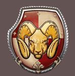 Queens Day Tilt video slot - Red shield symbol
