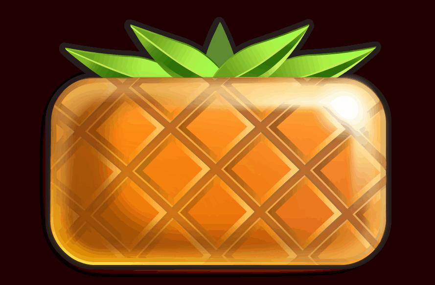 Reel Rush video slot - Ananas symbool