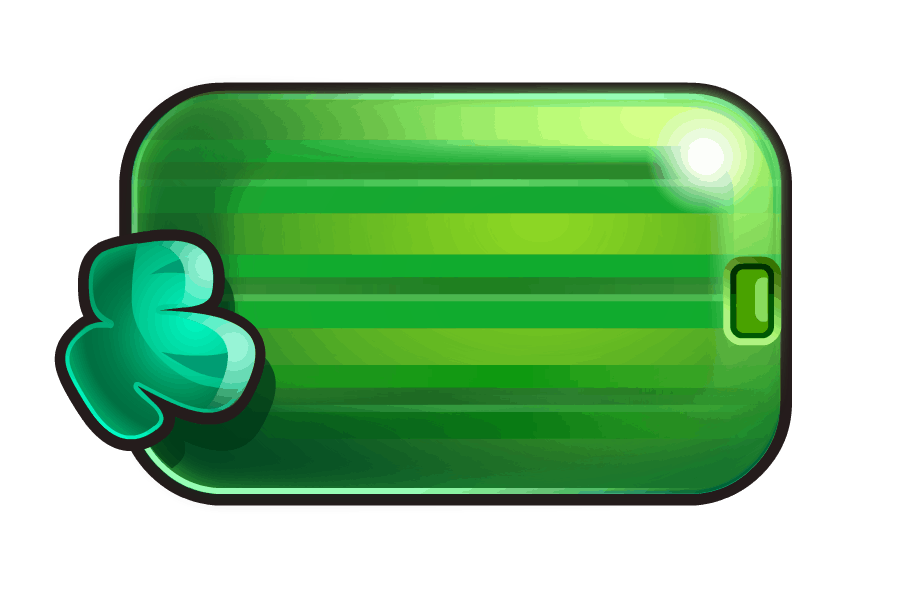 Reel Rush video slot - Meloen symbool
