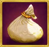Robin Hood Shifting Riches - Money bag symbol