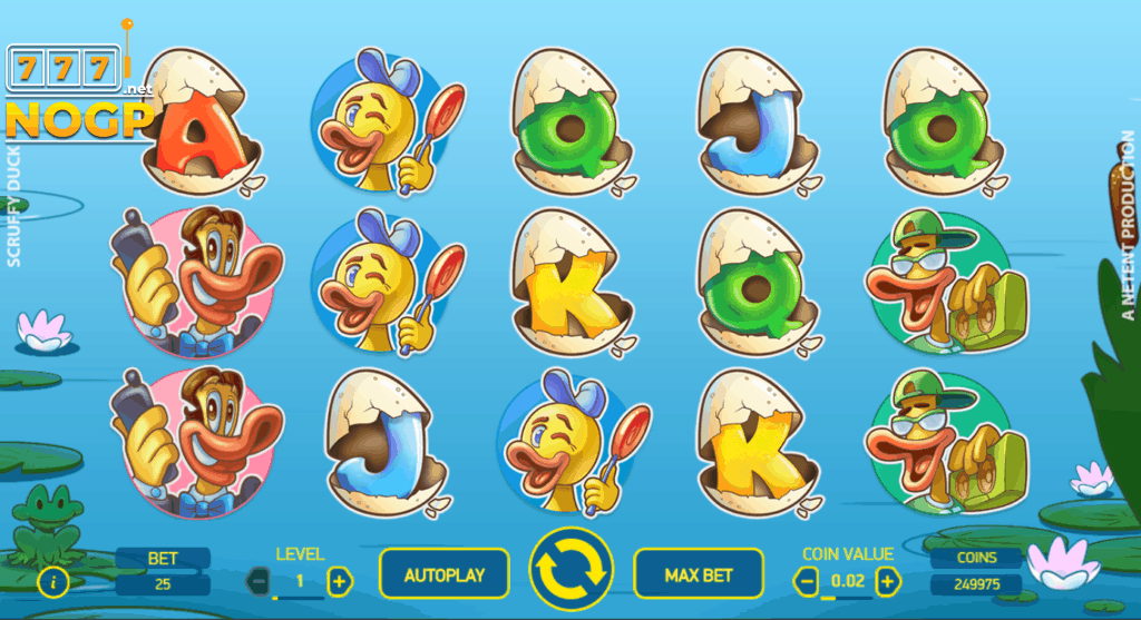 Scruffy Duck gokkast screenshot