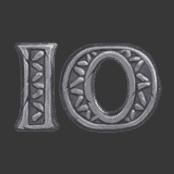 Secret of Stones video slot - 10 symbol