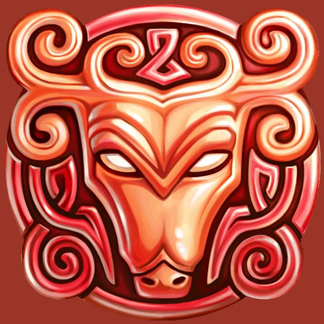 Secret of Stones video slot - Deer symbol