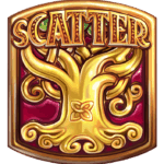 Secret of Stones slot scatter symbool