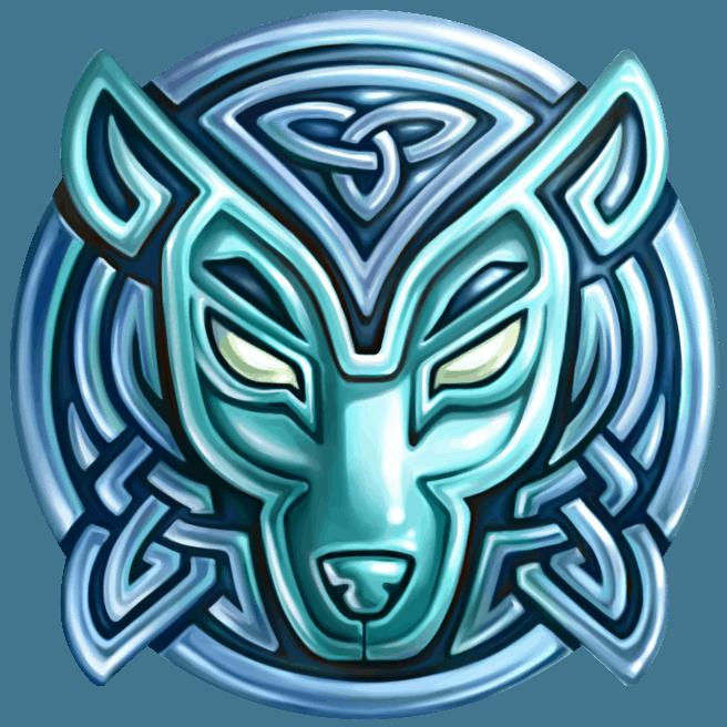 Secret of Stones video slot - Wolf symbol