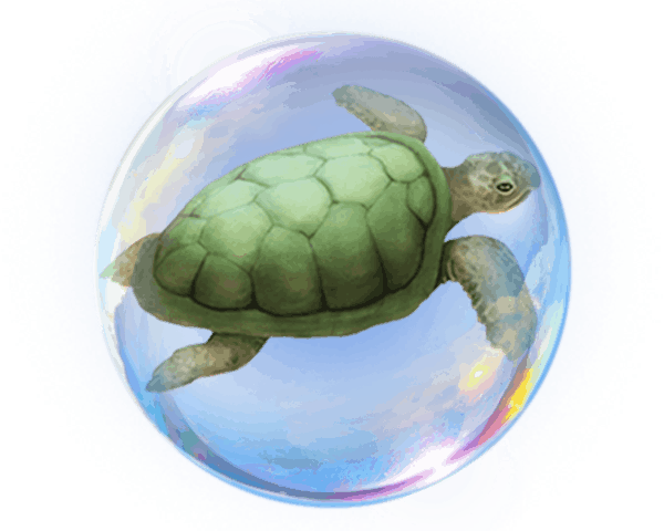 Secrets of Atlantis video slot - Turtle symbol