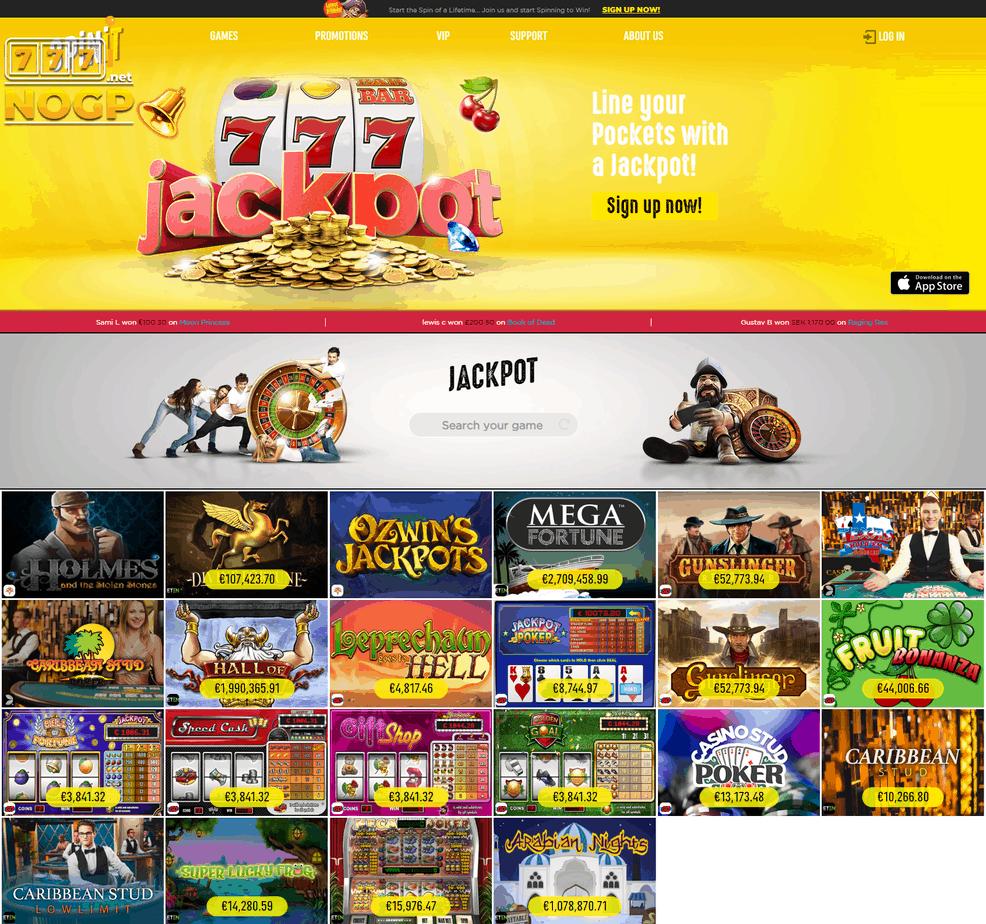 Spinit Casino jackpot casino spellen