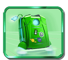 Ticket to the Stars video slot - Backpack symbol