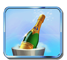 Ticket to the Stars slot - Champagne symbol